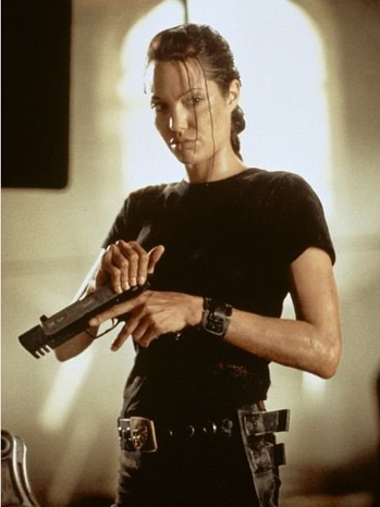 Lara Croft: Tomb Raider - Movie Still: Angelina Jolie - 2001