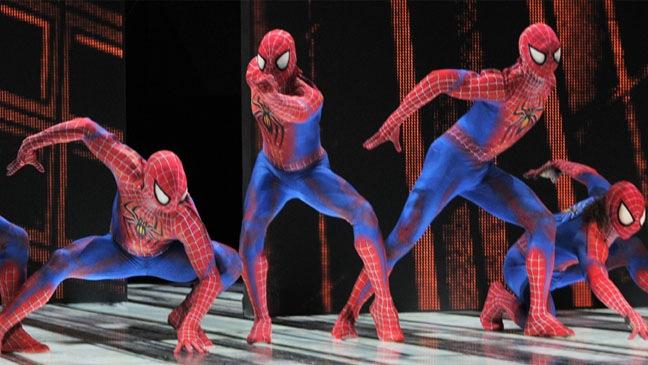 """""""Spider-Man Turn Off The Dark"""" - Theater Still - 2011"""