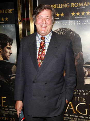 Stephen Fry The Eagle Premiere 2011
