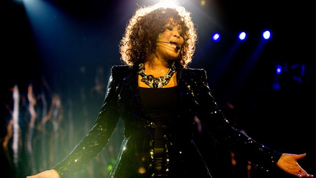 Whitney Houston - Performs At The O2 Arena - 2010