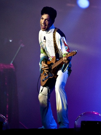 Prince - performs at the Roskild - 2010