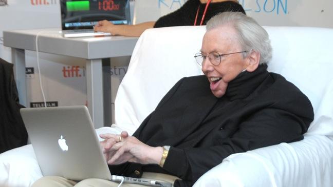 Roger Ebert - Toronto International Film - 2010