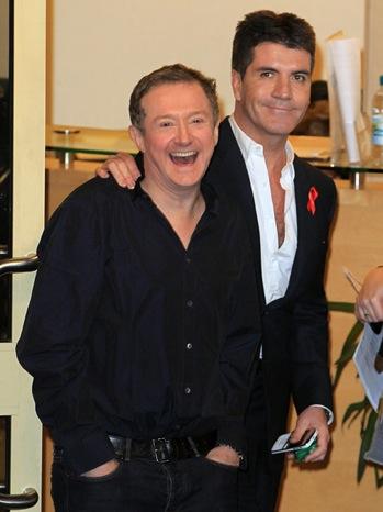 Louis Walsh, Simon Cowell - ITV2 Autumn Launch Party - Arrivals - 2008