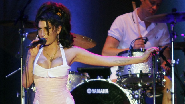Amy Winehouse - Performs At Summer Soul Festival - 2011