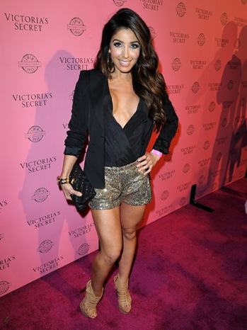 Melissa Molinaro - VS Angels Host A Pink Carpet Event - 2011