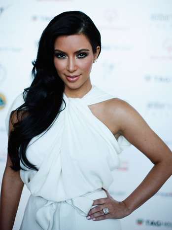 Kim Kardashian - Amber Fashion Show - 2011