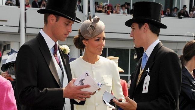 Prince William, Kate Middleton - Investec Derby - 2011