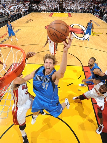 Dallas Mavericks v Miami Heat - Game Six - 2011