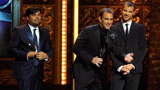 Trey Parker, Matt Stone and Robert Lopez