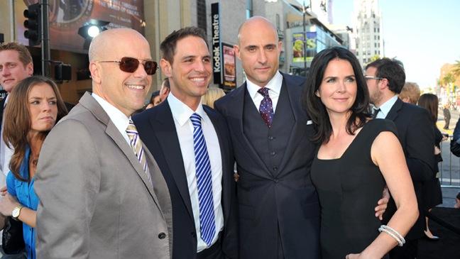 Donald De Line, Greg Berlanti, Mark Strong, Liza Marshall