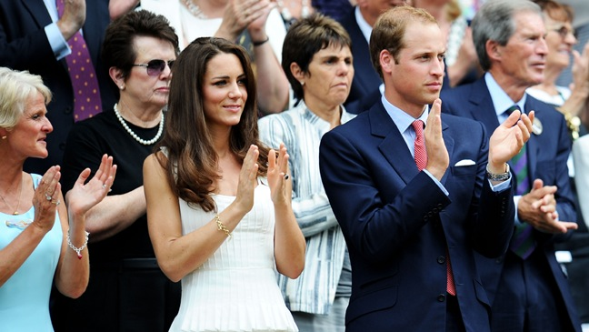 Kate Middleton, Prince William - Attend Wimbledon - 2011