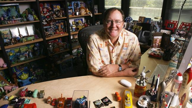 24 FEA PIXAR John Lasseter in office
