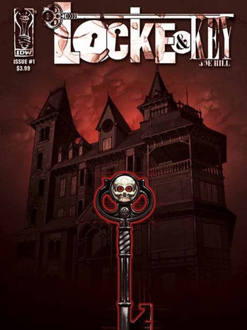 Locke & Key - comic book cover - 2011