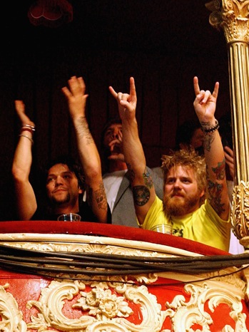 Bam Margera; Ryan Dunn - Rock Band 'Him' Play In Dublin - 2004