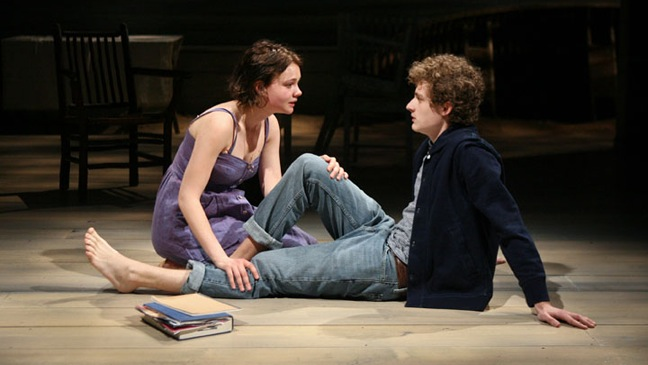 Through a Glass Darkly - Theater Still: Carey Mulligan, Ben Rosenfield - 2011