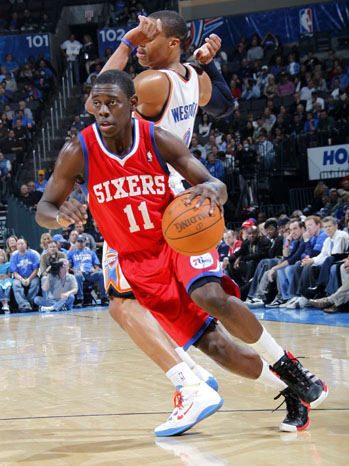 76ers Jrue Holiday 2011
