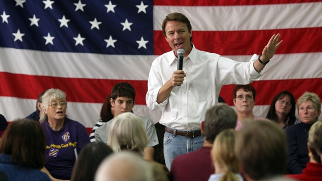 John Edwards - Campaigns Across New Hampshire - 2007