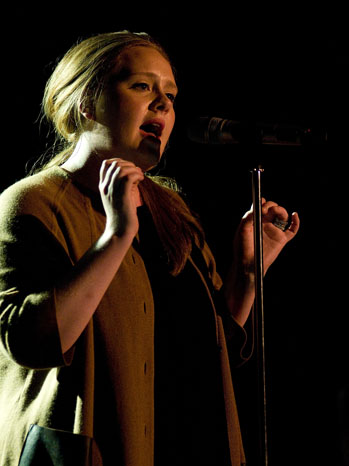 Adele Performs in Barcelona 2011