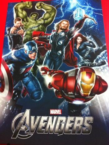 Avengers - New Poster - 2011