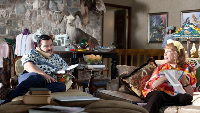 Bernie - Film Still: Jack Black, Shirley MacClain - 2011