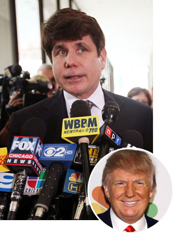 Rod Blagojevich Donald Trump 2011