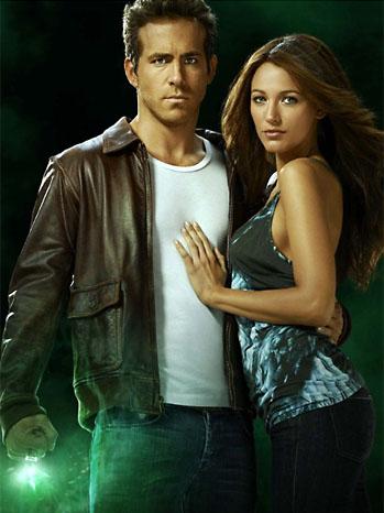 Blake Lively Ryan Reynolds Green Lantern 2011