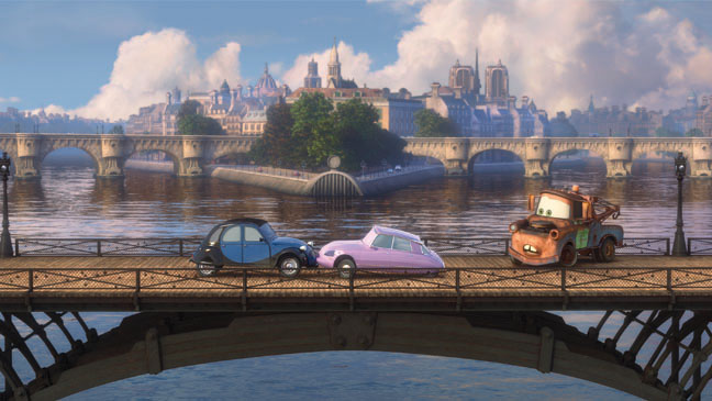 Cars 2 Bridge Still 2011