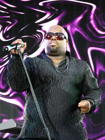Cee Lo Green Stage Purple 2011
