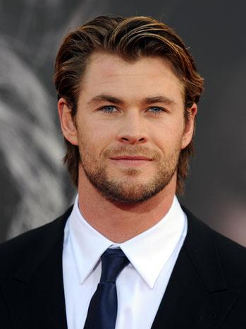 Chris Hemsworth Headshot 2011