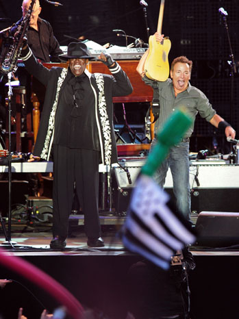 Clarence Clemons Bruce Springsteen Stage 2009