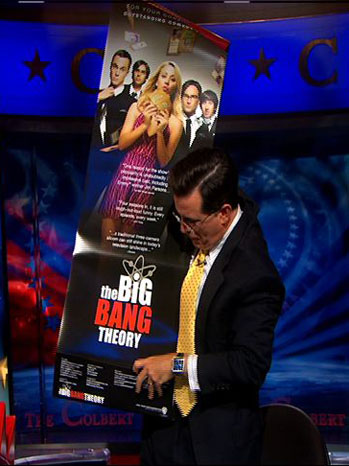 Colbert Report Big Bang Theory 2011