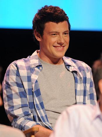 Cory Monteith Glee Screening 2011