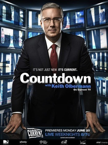 Keith Olbermann - Countdown Ad - 2011