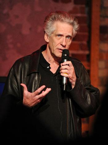 David Cronenberg Speaking 2011