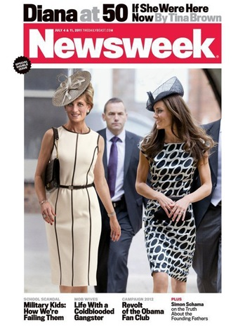 Newsweek Cover - Diana/Kate - 2011