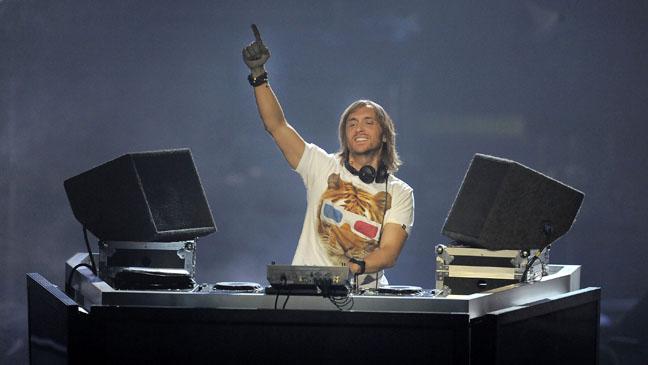 DJ David Guetta Stage 2011