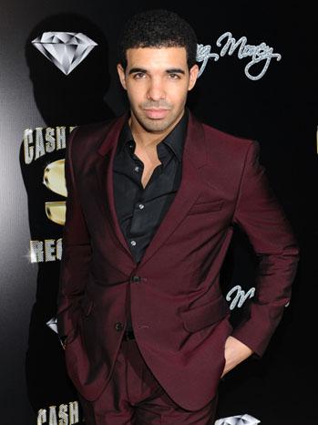 Drake Maroon Suit 2011