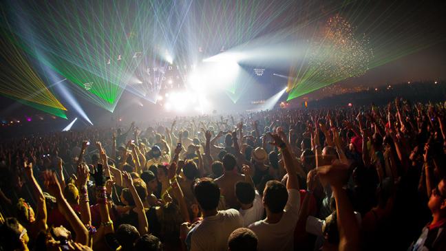 EDC 2011 Swedish House Mafia 1