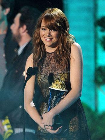Emma Stone MTV Movie Awards 2011
