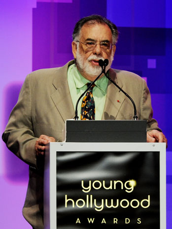 Francis Ford Coppola Young Hollywood 2011