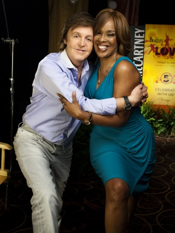 Gayle King, Paul McCartney - Portrait - 2011