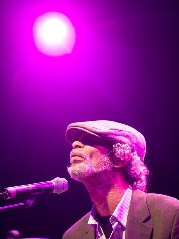 Gil Scott-Heron Stage 2011