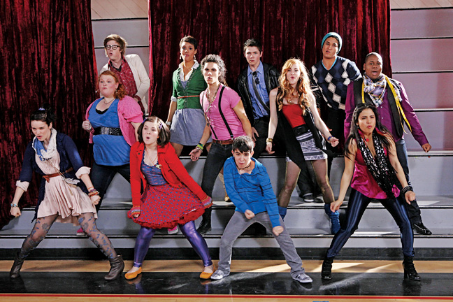 22 REV The Glee Project Cast