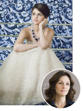Selena Gomez, Julia Roberts - SPLIT - 2011