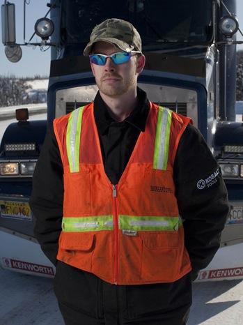 Greg Boadwine - Ice Trucker PR Portrait - 2010
