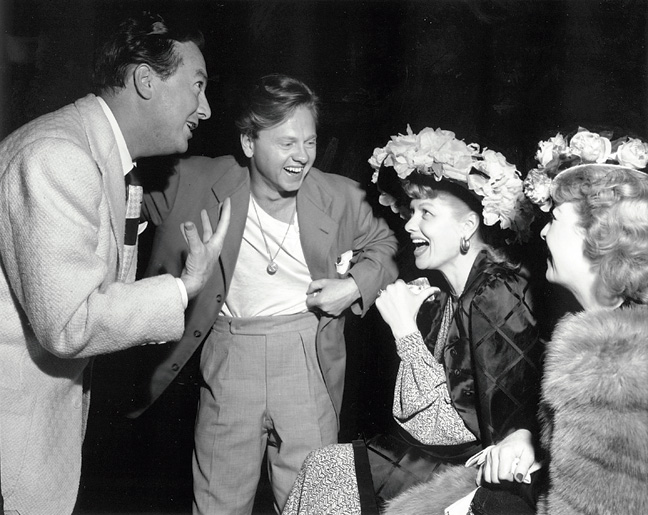 23 STY Hollywood Bowl Jack Haley Mickey Rooney Lucille Ball