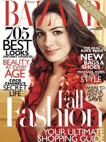 Anne Hathaway - Baazar Cover - 2011
