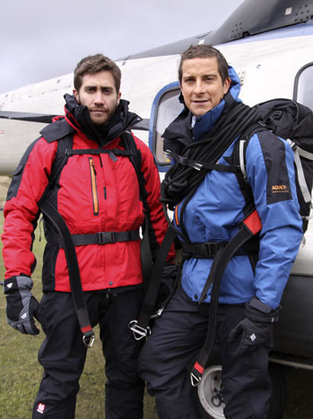 Jake Gyllenhaal Bear Grylls Survivor Man 2011