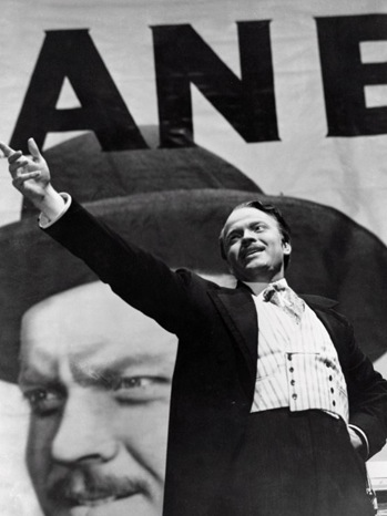 Orson Welles in Citizen Kane - 1941