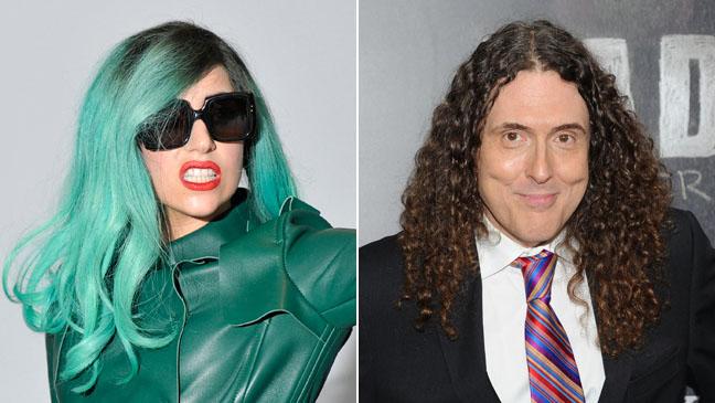 Lady Gaga Weird Al Split 2011